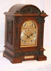 3/4 Regulator bracket clock.