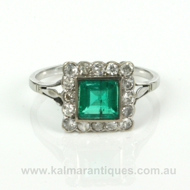 1.05ct Columbian emerald