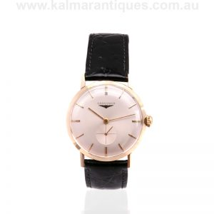 14ct Longines watch dating from 1966