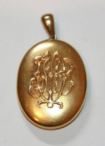 Late Victorian locket
