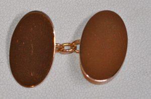 18ct antique cufflinks