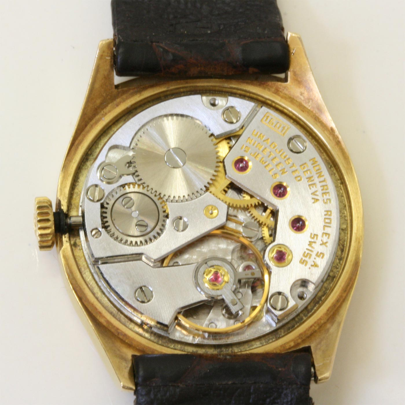 buy 18ct rolex cellini ladys wrist watch sold items