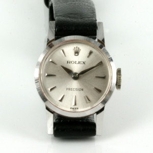 18ct white gold Rolex Precision