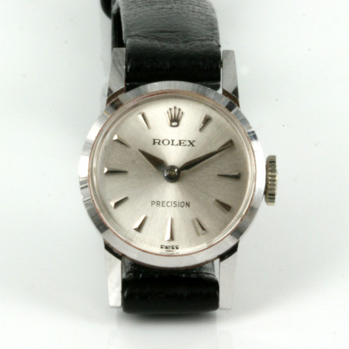 18ct white gold Rolex Precision