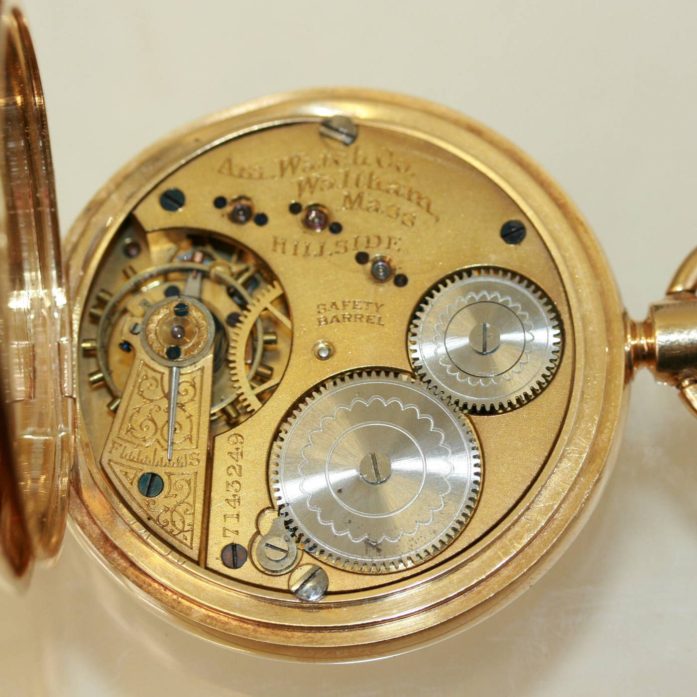 How to Open a Waltham Pocket Watch   Our Pastimes