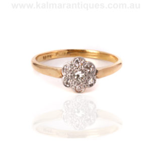 1920s diamond engagement ring Sydney