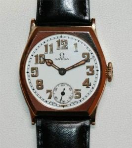 Vintage 9ct Omega watch