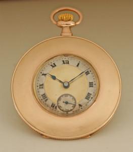 9ct pocket watch