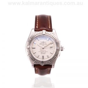 Unworn Breitling Headwind Day Date watch A45355 with box and papers