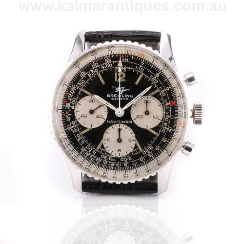 Vintage Breitling Navitimer 806 watch