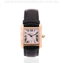 118 carat automatic Cartier Tank Francaise reference 1840