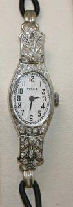 18ct Art Deco ladies Rolex watch
