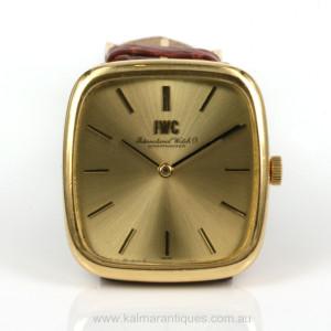 18ct IWC watch model 2572