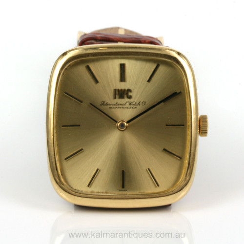 18ct IWC watch model 2572