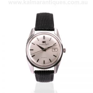 Vintage IWC automatic watch dating from 1972