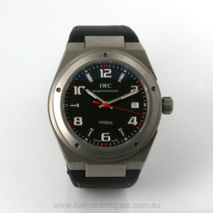 Titanium IWC Ingenieur AMG model reference 3227