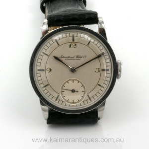 Vintage IWC calibre 64T from 1919
