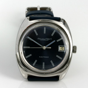 IWC tuning fork watch from 1973