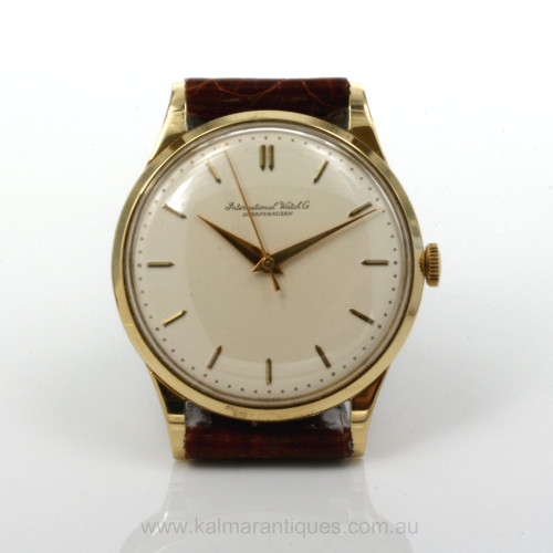 18ct IWC watch calibre 89 from the 1950's.