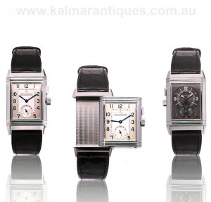 Jaeger LeCoultre Reverso Classic Large Duoface night and day reference 272.8.54