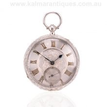 Antique pocket watch by John Forrest made in 1895