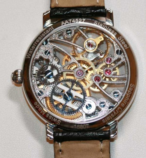 Maurice Lacroix Skeleton watch