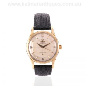 Vintage 1960 Omega Constellation 14381 4sc with the pie pan dial