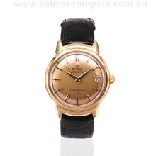 18ct Omega Grand Luxe Constellation Calendar watch dating from 1966