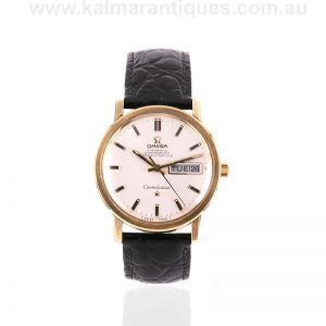 Vintage day-date Omega Constellation reference 168.016 from 1970