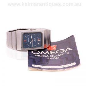 Vintage 1972 Omega Megaquartz F2.4MHz 196.0013
