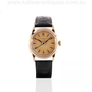 18ct vintage Patek Philippe watch reference 2460 from the 1950's
