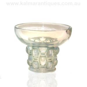 Rene Lalique bowl Rene Lalique Beautrellis Vase number 989