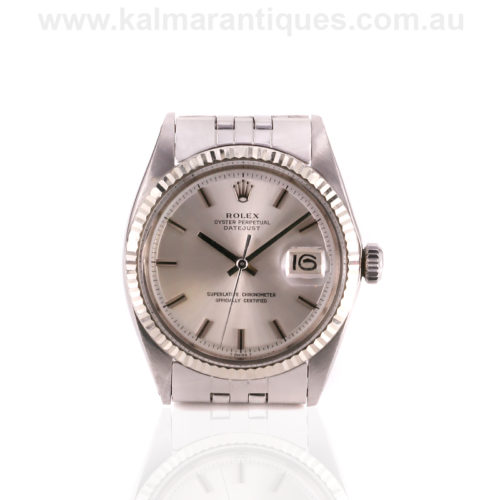 Vintage 1971 Rolex Oyster Perpetual Datejust 1601