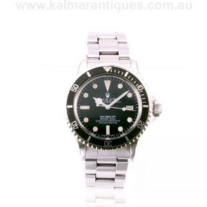 Vintage Rolex Sea-Dweller 1665 with full Rolex service papers