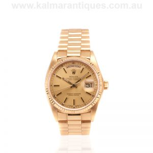 18 carat Rolex President Day-Date in superb condition