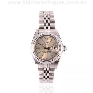 Ladies Rolex Oyster Perpetual Datejust model 69240