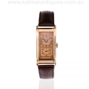 1941 rose gold Rolex Prince watch with the Prima movement