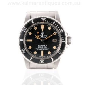 Rolex Sea Dweller 1665 gilt dial Sydney