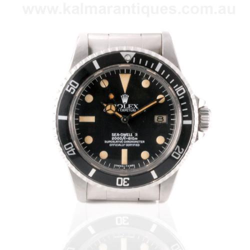 Rolex Sea Dweller 1665 gilt dial Sydney