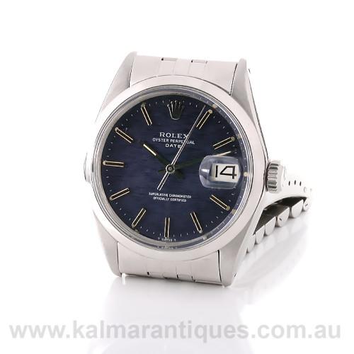Rolex Datejust 1500 Shantung dial