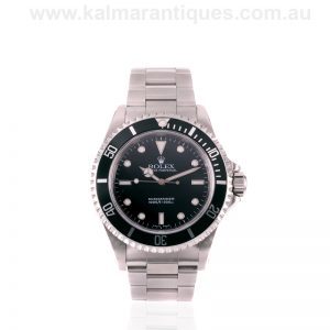 Stainless steel 2001 Rolex Submariner no date 14060M
