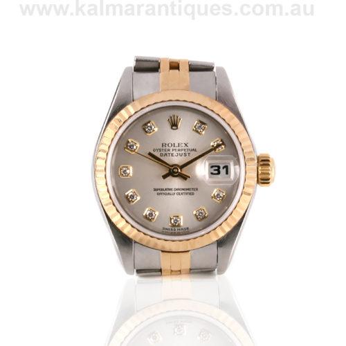 Ladies Rolex Datejust watch 69173