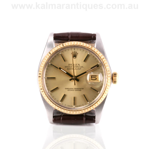 1987 Rolex Oyster Perpetual Datejust reference 16013