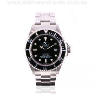 2003 stainless steel Rolex Sea Dweller reference 16600