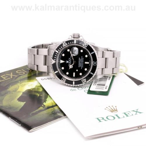 Rolex Submariner 16610 Sydney Rolex