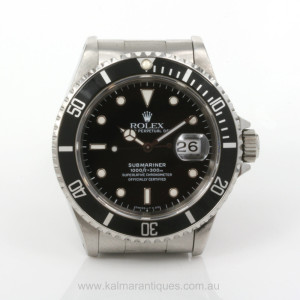 1993 Rolex Submariner 16610 with box & papers