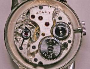 Stainless steel Rolex wrist watch