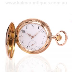 14 carat Teutonia pocket watch made in the early 1900's