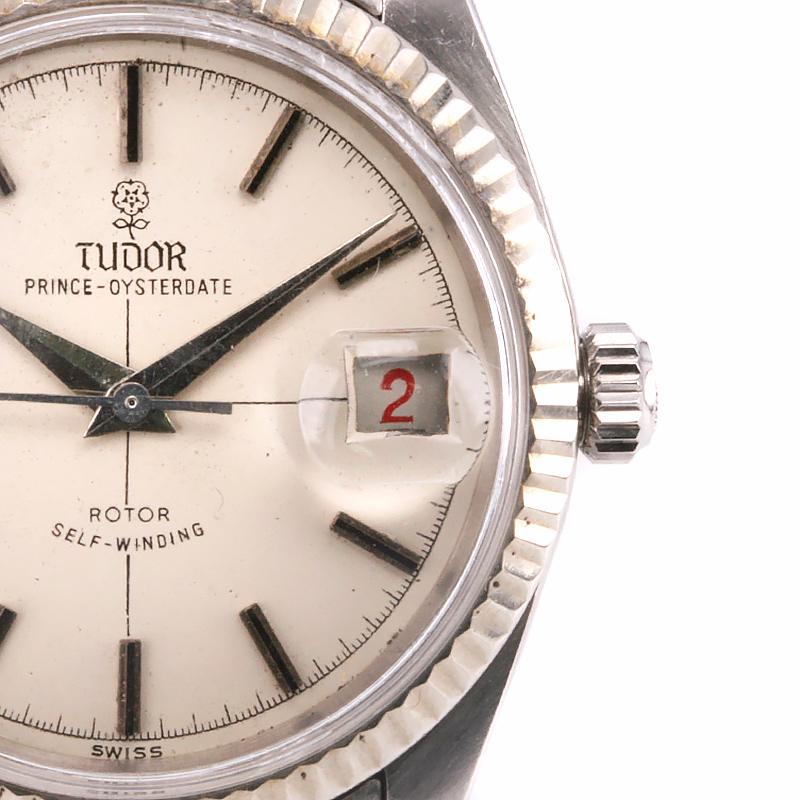 Vintage tudor prince oysterdate big rose reference 7990 4 for Tudor signatures