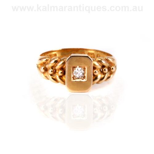 Victorian diamond ring Sydney